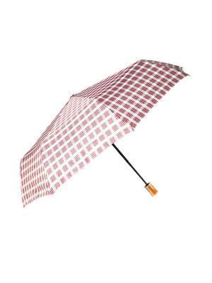 Зонт Mitya Veselkov. Цвет: красный, серый