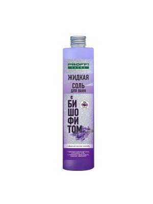 Соль жидкая для ванн с бишофитом и эфирным маслом лаванды 360 мл PROFFI. Цвет: фиолетовый