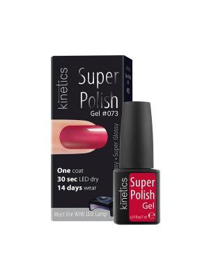 Однофазный гель-лак Super Polish, 7 мл, тон № 073 Sweet smell of success Kinetics. Цвет: розовый