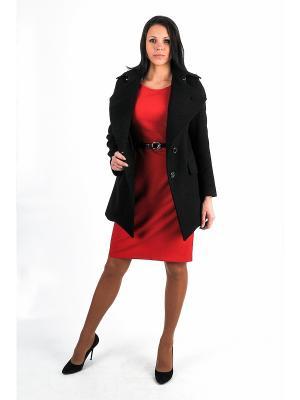 Пальто Garderob. Цвет: черный