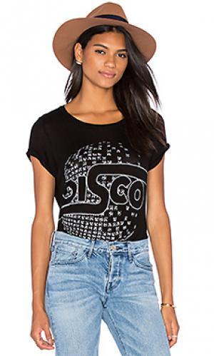 Классическая футболка janie Lauren Moshi. Цвет: черный