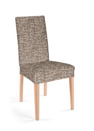 Чехол для стула Мальта (кремовый/коричневый) bonprix. Цвет: кремовый/коричневый