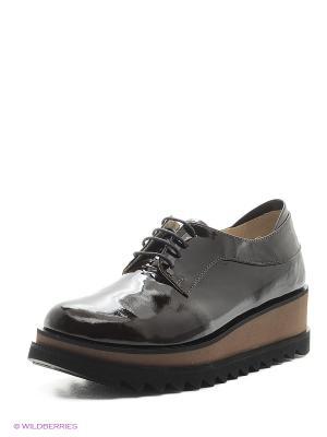 Ботинки Gavary. Цвет: коричневый