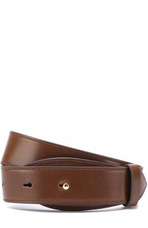 Кожаный ремень Simone Rocha. Цвет: коричневый