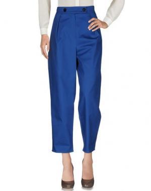 Повседневные брюки KENZO. Цвет: ярко-синий