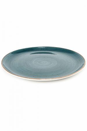 Тарелка мелкая круглая, 27 см CONTINENTAL. Цвет: синий