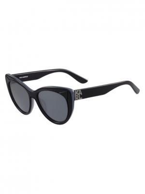 Очки солнцезащитные KL 900S 077 Karl Lagerfeld. Цвет: синий,голубой
