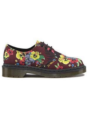 Ботинки Dr.Martens. Цвет: коралловый