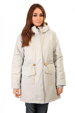 Куртка парка женская  Ws 15 Grey Today. Цвет: серый