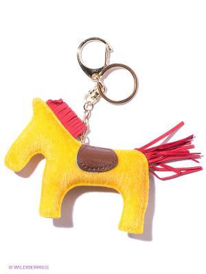 Брелок Лошадка (желтая с красным) Kawaii Factory. Цвет: желтый