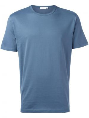 Базовая футболка Sunspel. Цвет: серый