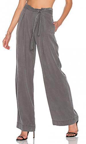 Брюки cosmo YFB CLOTHING. Цвет: серый