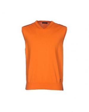 Свитер DIMATTIA. Цвет: оранжевый