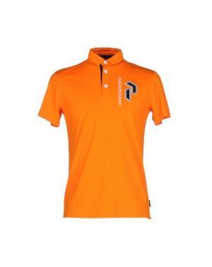 Поло PEAK PERFORMANCE. Цвет: оранжевый