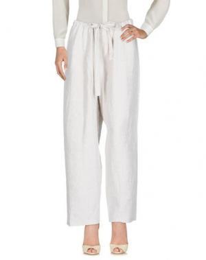Повседневные брюки A.B APUNTOB. Цвет: светло-серый