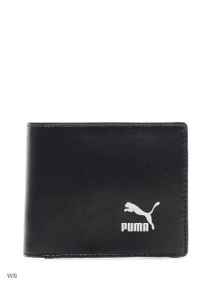Кошелек Originals Billfold Wallet PUMA. Цвет: черный