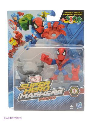 Разборные Микро-фигурки Марвел Hasbro. Цвет: синий, белый, красный, черный