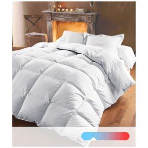 Одеяло из натурального пуха 370 г/м², 50 % пуха, обработка против клещей REVERIE BEST. Цвет: белый