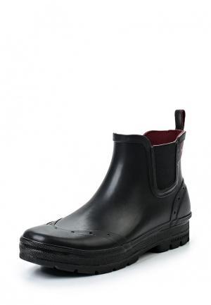 Резиновые ботинки Helly Hansen. Цвет: черный