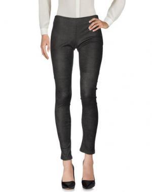 Повседневные брюки ANGELO MARANI. Цвет: свинцово-серый