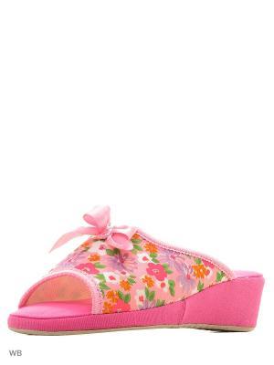 Тапочки Spesita. Цвет: розовый