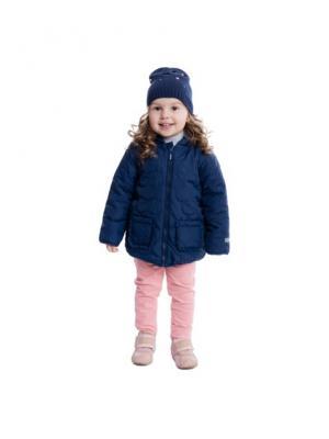 Куртка PlayToday. Цвет: синий, розовый