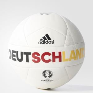 Футбольный мяч (подарочный) EURO16OLP GER M  Performance adidas. Цвет: красный