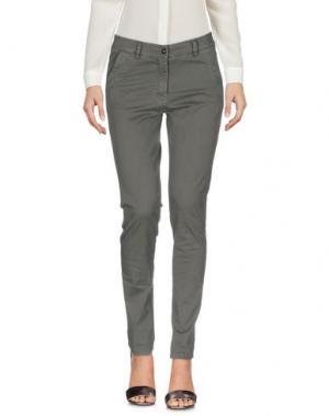 Повседневные брюки MICHAEL FORPUS. Цвет: зеленый-милитари