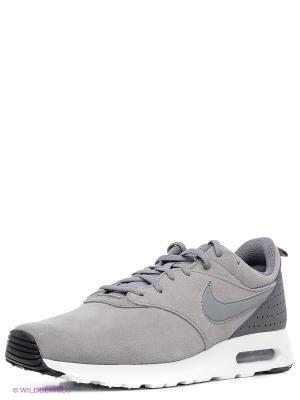Кроссовки NIKE AIR MAX TAVAS LTR. Цвет: серый, серый меланж, серо-зеленый