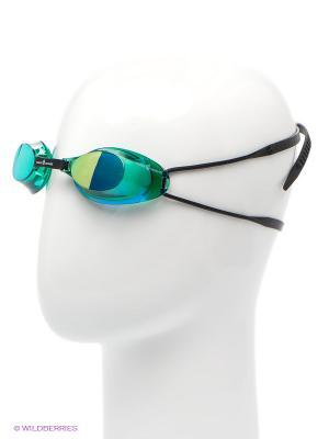 Стартовые очки Liquid Racing Mirror Mad Wave. Цвет: зеленый