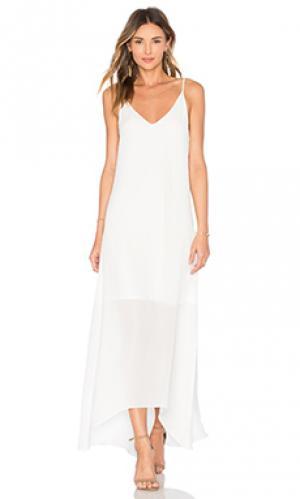 Вечернее платье petite Rory Beca. Цвет: белый