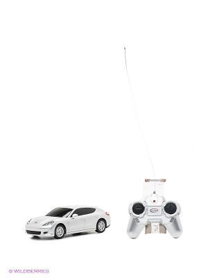 Модель машины Porsche Panamera RASTAR. Цвет: серебристый