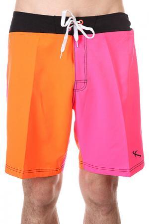 Шорты пляжные  Whoopie Nor Lost. Цвет: оранжевый