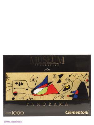 Пазл Хуан Миро - Женщина и птица ночью, 1000 эл. Clementoni. Цвет: бежевый