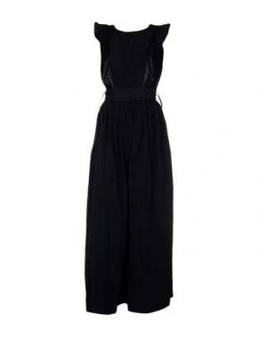 Длинное платье BOUTIQUE de la FEMME. Цвет: черный