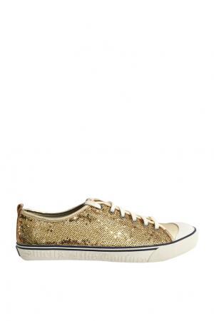 Кеды Juicy Couture. Цвет: золотой