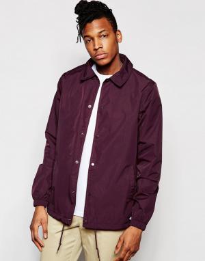 Dickies Спортивная куртка. Цвет: красный