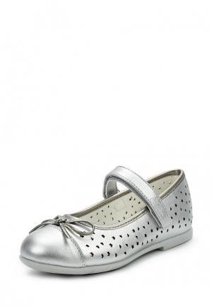 Туфли Chicco. Цвет: серебряный