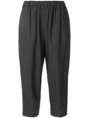 Укороченные строгие брюки Comme Des Garçons. Цвет: серый