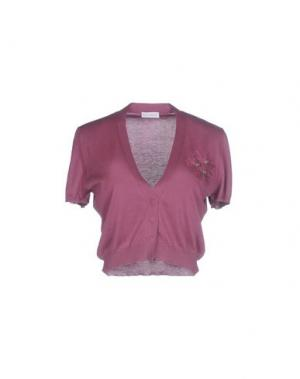 Болеро BRUNELLO CUCINELLI. Цвет: розовато-лиловый