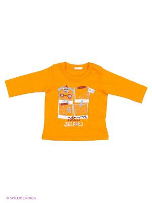 Майка United Colors of Benetton. Цвет: оранжевый