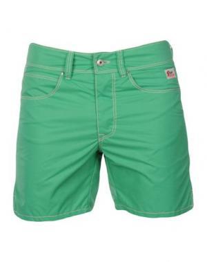 Шорты для плавания ROŸ ROGER'S. Цвет: зеленый