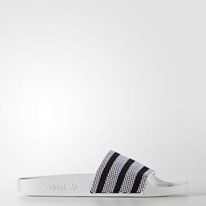 Шлепанцы adilette  Originals adidas. Цвет: черный