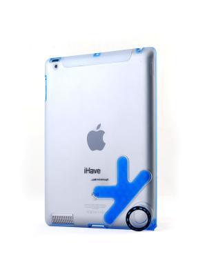 Чехол-панель для iPad2 с кольцом-держателем Belsis. Цвет: синий