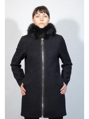 Пальто Gamelia. Цвет: темно-синий