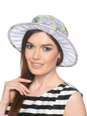 Шляпа Ваша Шляпка. Цвет: белый, сиреневый