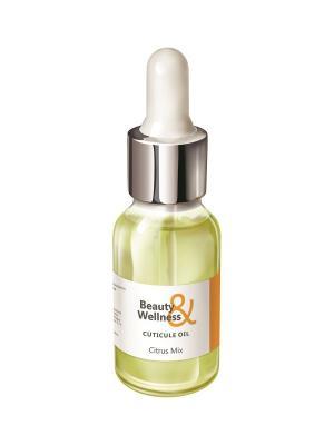 Масло для ногтей и кутикулы, аромат: Цитрусовый микс, 15мл RuNail Professional 2125. Цвет: белый