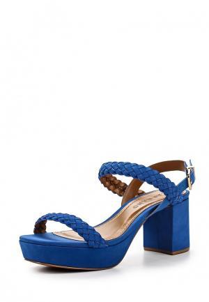 Босоножки Carrano. Цвет: синий
