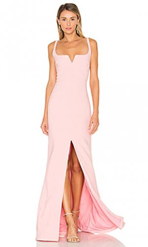 Вечернее платье constance LIKELY. Цвет: розовый