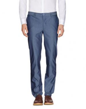 Повседневные брюки HARRY & SONS. Цвет: грифельно-синий